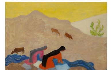 MILTON AVERY | MEXICAN WASHERWOMEN