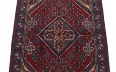 Semi-Antique Very Fine Hand-Knotted Maymeh Isfahan Carpet