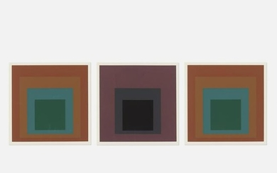 Josef Albers, Reserved and Pompeian