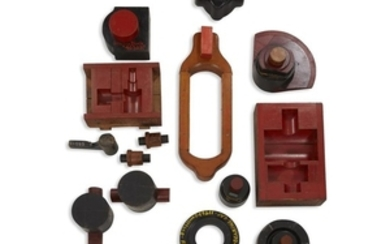 MODERN COLLECTION OF PATTERN MOLDS FROM THE FERRACUTE MACHINE...
