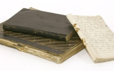 1- GRAND TOUR: Thomas Clement Sneyd Kynnersley manuscript book of his Europe Grand Tour