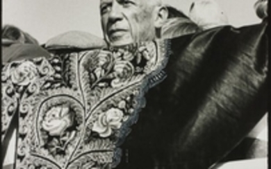 Peter Beard, Picasso at Fréjus