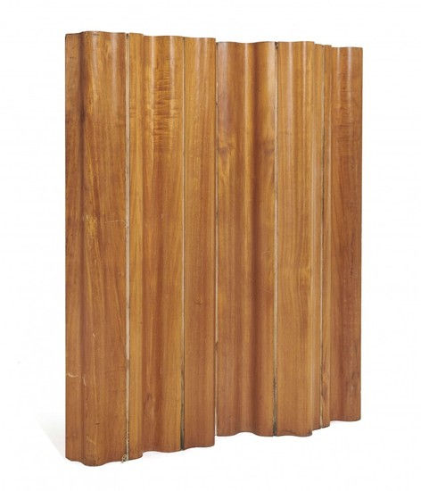 """Charles & Ray EAMES 1907 - 1978 & 1912 - 1988 Paravent mod. FSW-6 dit """"Folding screen"""" - 1946"""