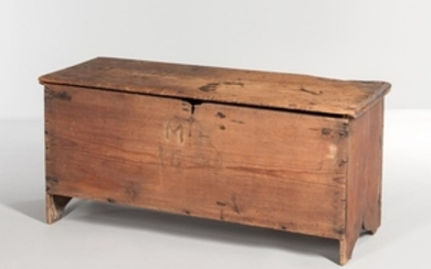 Early Yellow Pine Six-board Blanket Chest