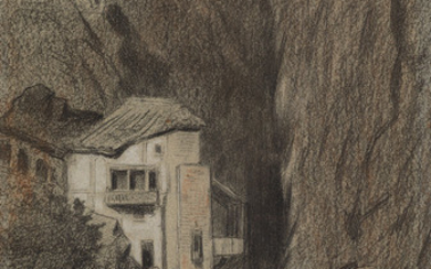 CÉLESTIN NANTEUIL (Rome 1813 1873 Bourron Marlotte) Collection of approximately 50 drawings.