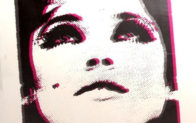 Style of Andy Warhol, 20th century- Portrait...