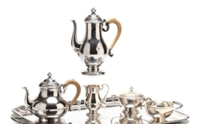 Elizabeth II Silver Tea & Coffee Service, James Robinson