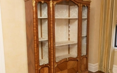 French 19th Century Three Door Vitrine