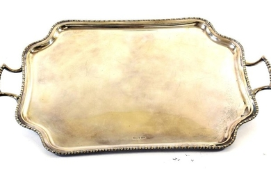 A George V Silver Tray, by Atkin Bros., Sheffield, 1910,...