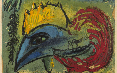 Marc Chagall (1887-1985) (after) Le Coq (Maeght 1203)