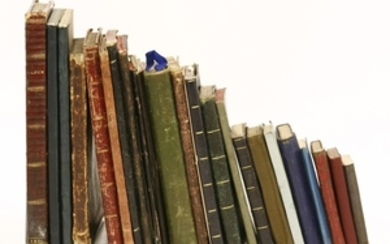 Scrapbooks/Diaries: 19 different volumes belonging to members of the Sneyd Kynnersley family; 1827-1870