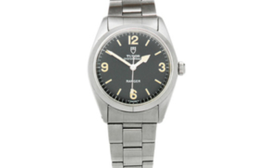 Tudor. A stainless steel automatic bracelet watch