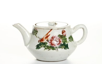 Chinese Famille Rose Teapot