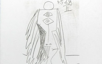 Pablo Picasso (After) - Untitled (4.5.64 II)