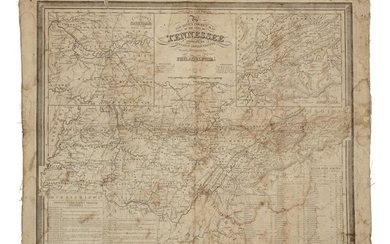 [NORTH AMERICA]. A group of 2 engraved maps of