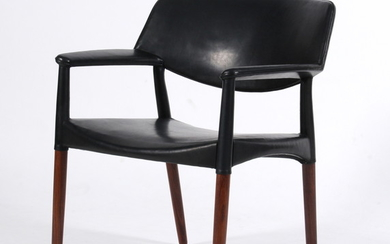 Einar Larsen & Aksel Bender Madsen. Armchair for cabinetmaker Willy Beck