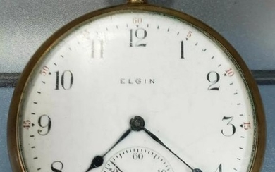 1909 Elgin B.W. Raymond Pocket Watch (WORKS)