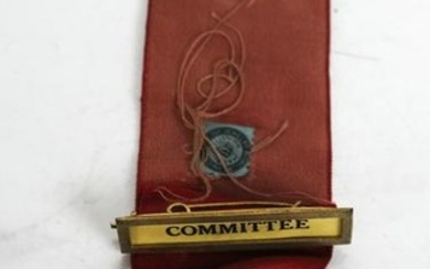 N.D. Socialist Labor Party Committee Badge