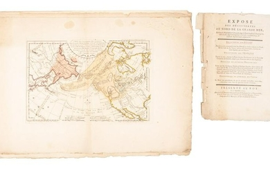 Rare maps of northwest America & northeast Asia