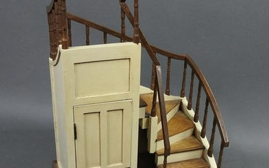 VICTORIAN STYLE MINIATURE STAIRCASE