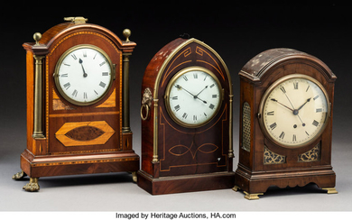Three Mantel Clocks (early 20th centu)
