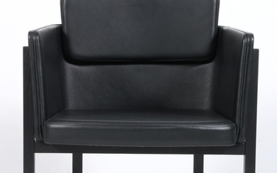 Thomas Lykke for Fredericia Furniture. Lounge chair, Model 'Your Chair', black leather
