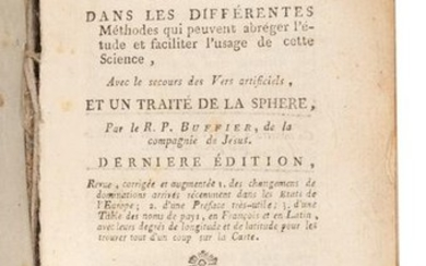Geographie Universelle, Claude Buffier 1783