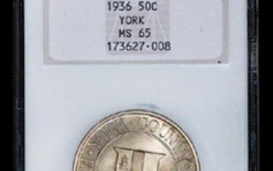 A United States 1936 York County Commemorative 50c Coin