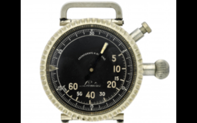 LEONIDAS Metal military chronograph; this type of instrument was...