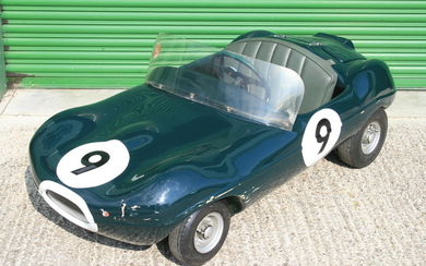 "A Cheetah Cub ""E-Type"" Jaguar child's Car by Watsonian, late 1960s,"