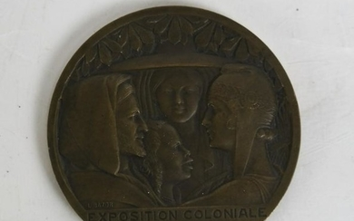 International Colonial Exposition Medal