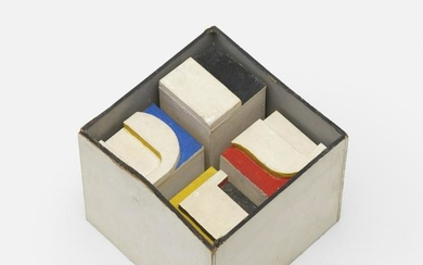 Norman Ives, Untitled (cube construction)