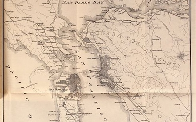 """San Francisco Harbor - Its Commerce and Docks with a Complete Plan for Development Being the Report of the Engineers of the Federated Harbor Improvement Associations"""