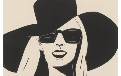 ALEX KATZ (B. 1927), Black Hat (Nicole)