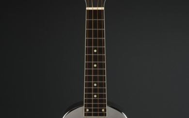 AMERICAN STAINLESS STEEL CASED UKELELE BY NATIONAL RESOPHONIC GUITARS