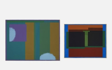 Sewell Sillman, Untitled (two works)