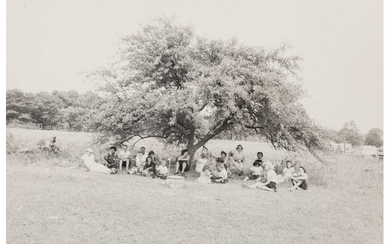 Robert Frank (1924-2019), Untitled (Group Under a Tree) (early 1950s)
