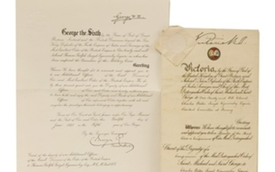 1- Queen Victoria: Grant of the Dignity of a Companion of the most distinguished Order of Saint Michael and Saint George to Charles Walter Sneyd Kynnersley
