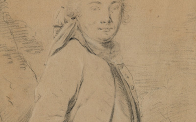 FRENCH SCHOOL, 18TH CENTURY A Half Figure Study of a Man.