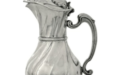 A silver pitcher, Genoa, late 1700s