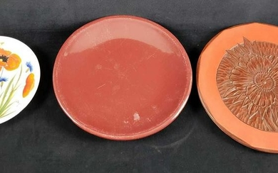 Lot of 3 Miscellaneous Plates