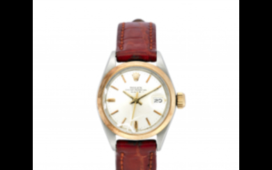 ROLEX LADY Lady's steel wristwatch 1970s Dial, movement and...