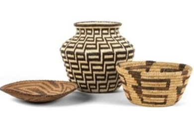 Two California Mission Baskets