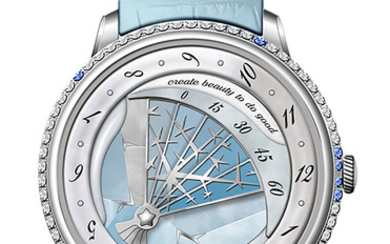 FABERGÉ WINTER Fabergé is proud to introduce this year's custom built Lady Compliquée Winter Only Watch - a one-off, tailor made take on Fabergé's award winning Lady Compliquée timepiece created for the Only Watch biennial charity auction to raise...