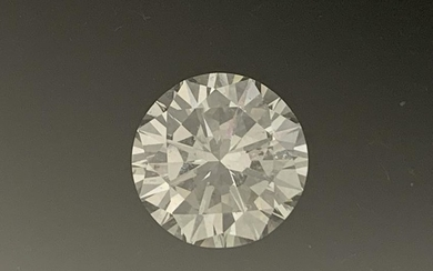 GIA 3.6 CT. DIAMOND VS1 ROUND SOLITARE CUT