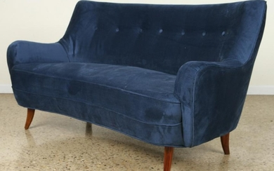 MID CENTURY MODERN UPHOLSTERED SOFA BY BONTA