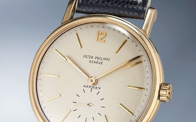 Patek Philippe, Ref. 2584 A very fine and rare yellow gold wristwatch