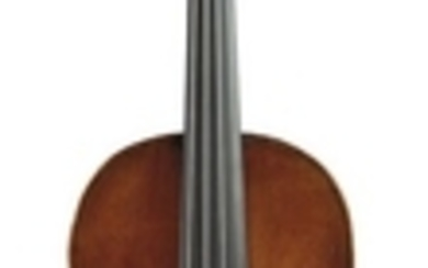 Saxon Violin - C. 1760, unlabeled, length of one-piece back 354 mm.