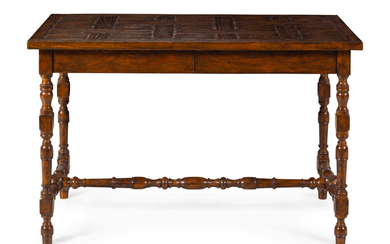 A William and Mary Style Oak Console Table