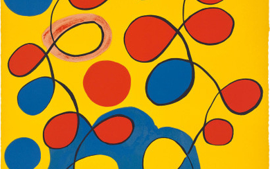 Untitled (Loops on Yellow)